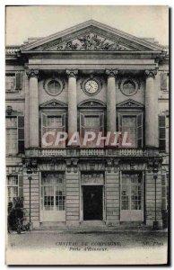 Old Postcard Chateau De Compienge Gate D & # 39Honneur