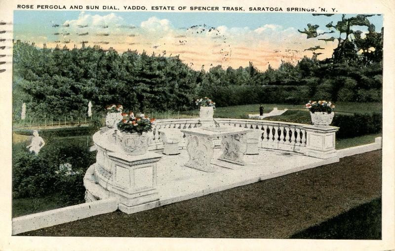 NY - Saratoga Springs. Yadoo, Estate of Spencer Trask