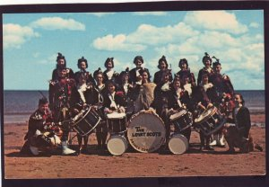 P1384 vintage unused postcard the lovat scots pipe band P.E.I.canada