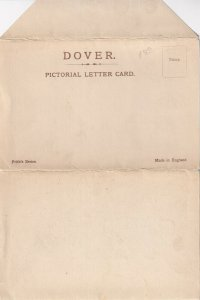 DOVER, Kent, England, United Kingdom; 1900-1910s; Pictorial Letter Card