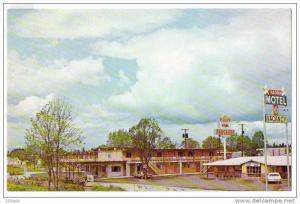 Vancouver ,Washington , Aloha Motel Hotel , 50-60s