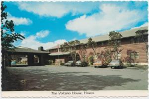 The Volcano House, Hawaii, unused Postcard