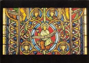 Wurzel Jesse Fenster legden Die Gottesmutter Maria mit Spruchband