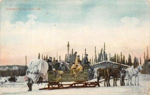 LP06   Fairbanks   Alaska Postcard Valdes Stage Line