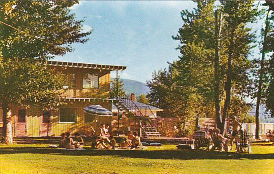 Canada Hegler's Coldstream Court Resort on Kalamalka Lake Vernon British Colu...