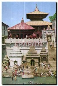 Post Card Ancient Temple of Pa EUPATI Sath Kathmandu Nepal