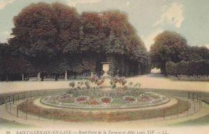 Rond-Point De La Terrasse Et Allee Louis XIV, Saint-Germain-En-Laye (Yvelines...