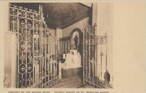 Michigan Detroit Convent Of The Sacred Heart Shrine Of St Madeline Sophie Alb...