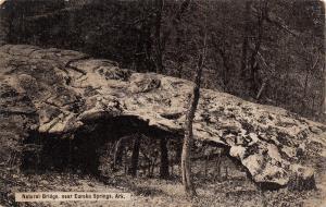 Eureka Springs Arkansas~Natural Bridge~1910 Postcard