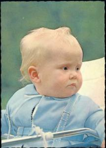 Crown Prince Willem Alexander of The Netherlands (1960s)