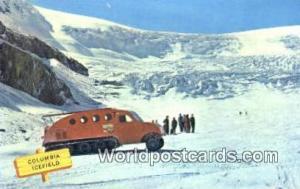 Canada Jasper Athabasca Glacier