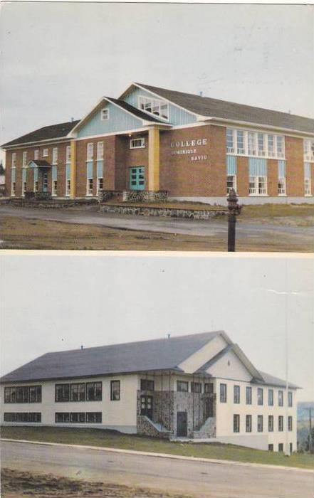 2-Views, College Dominique Savio, Ecole de Metiers, Les Bergeronnes, Quebec, ...