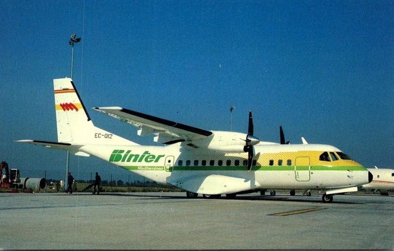 Binter Mediterraneo SA CASA CN-235-100 At Toulouse France