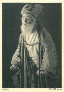 Postcard Oberammergau Passionsspiele 1934 actors Lechner Anton Annas