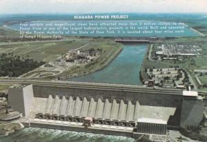 Niagara Hydroelectric Power Project - Niagara Falls NY, New York