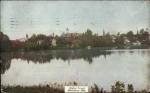 Salisbury MD Waterfront c1910 Postcard rpx