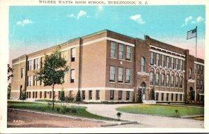 New Jersey Burlington Wilber Watts High School