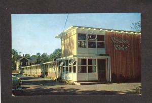 MA Mariner Motel Falmouth CAPE COD MASS Massachusetts  Postcard