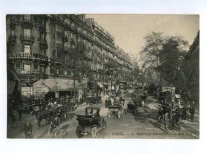 156050 FRANCE PARIS Boulevard Poissonnier Vintage postcard
