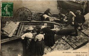 CPA Le Croisic Arrivee des Sardiniers (611034)