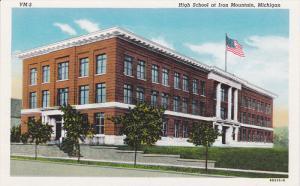 IRON MOUNTAIN, Michigan, 1930-1940´s; High School