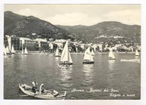 RP  Alassio, Savona. , ITALY , 40-60s Riviera dei Fiori,Regate a mare