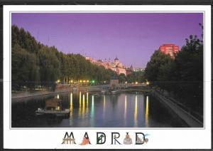 1997 Spain Madrid, Rio Manzanaries, mailed to USA
