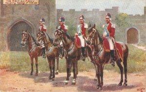 Harry Payne. ritish Army  Cavalry George I TuckOikette PC # 9478