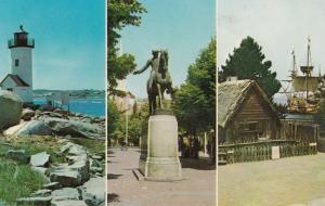 NEW YORK CITY,  1964-65 World's Fair ; Mass. Pavillion Postcard