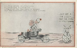 Ford Automobile TIN LIZZY Comic , 1908