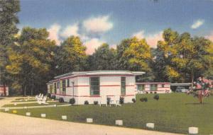 Penola Virginia Bowling Green Lodges Vintage Postcard JA454158