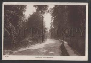 117825 UK England HUDDERSFIELD Grimscar Vintage postcard