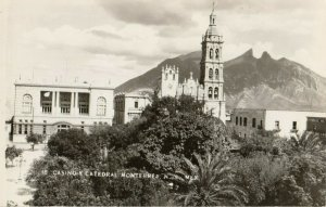 RP: MONTERREY, N.L. , Mexico, 1930-40s ; Casino Y Catedral