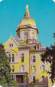 Indiana South Bend Golden Dome Of Administration Building Notre Dame