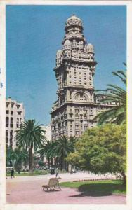 Plaza Independencia - Montevideo, Uruguay - pm 1953