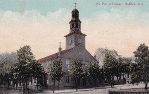 HALIFAX, Nova Scotia, Canada, 1900-1910s; St. Paul's Church