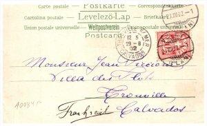 21529  Helvetia, Vevey,  Trouville Calvados, 1902