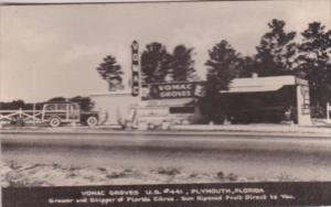 Florida Plymouth Vomac Groves Citrus Stand U S Highway 441