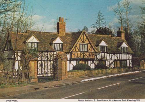 Dilwyn Village Green Hertfordshire Limited Edition Postcard