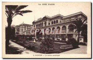 Postcard Old Chin Casino Municipal