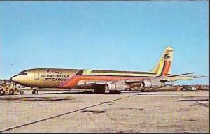 EMPRESA ECUATORIANA AVIACION BOEING 707-321C