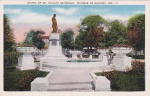 Indiana Elkhart Statue Of Dr Havilah Beardsley Founder Of Elkhart