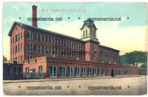 Globe Woolen Co., Utica NY