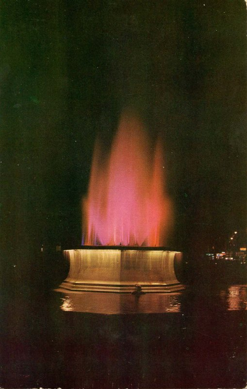 PA - Erie. East Perry Square, Thomas Edison Electric Fountain