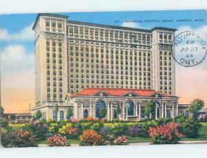Linen BUILDING Detroit Michigan MI ho1866
