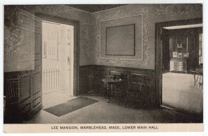 Marblehead, Mass, Lee Mansion, Lower Main Hall