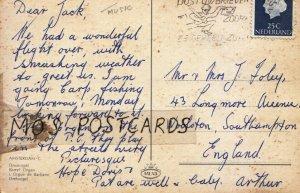Genealogy Postcard - Foley - Longmore Avenue - Woolston - Southampton  Ref 9561A