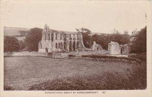 Scotland Kirkcudbright Dundrennan Abbey Photo