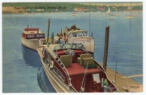 Tuna Boats at Boothbay Harbor, Maine