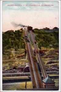 Incline Railway to Mt Washington, Pittsburg PA